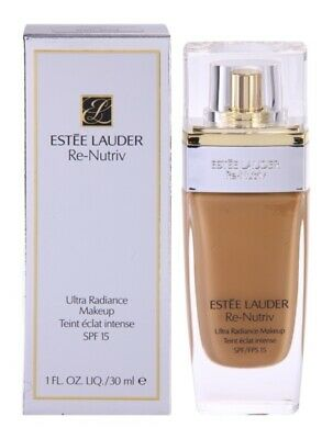 ESTEE LAUDER RE-NUTRIV ULTRA RADIANCE MAKEUP TEINT ECLAT INTENSE SPF 15 3W2 CASHEW 30ML