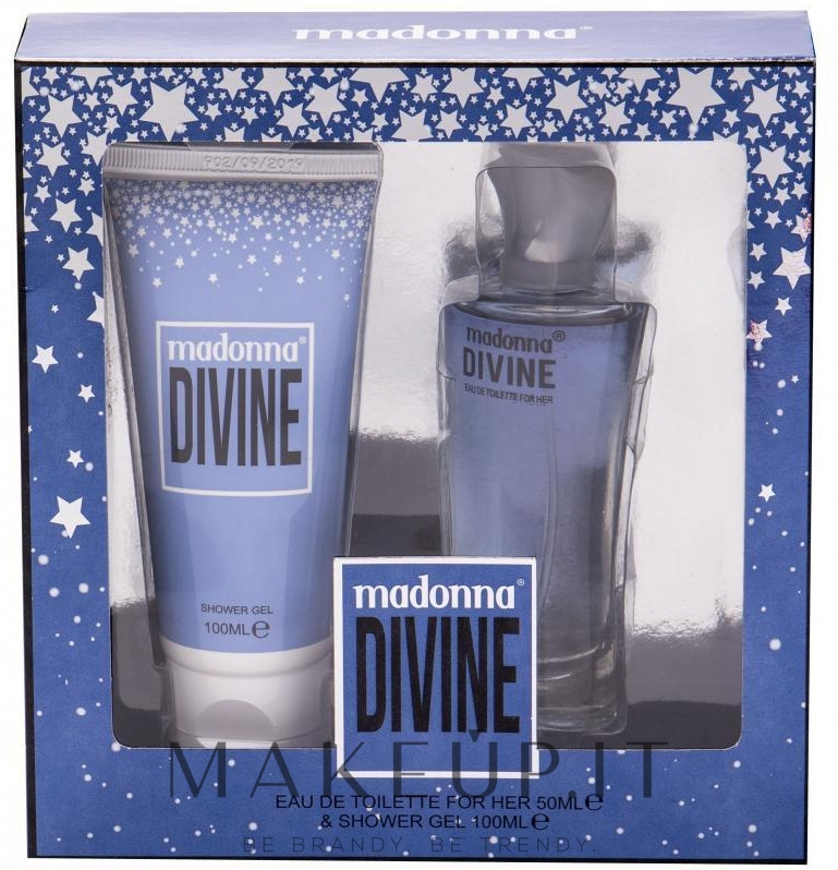MADONNA DIVINE COFANETTO EDT FOR HER 50ML + SHOWER GELL 100ML