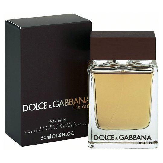 DOLCE & GABBANA THE ONE FOR MAN EDT 50ML