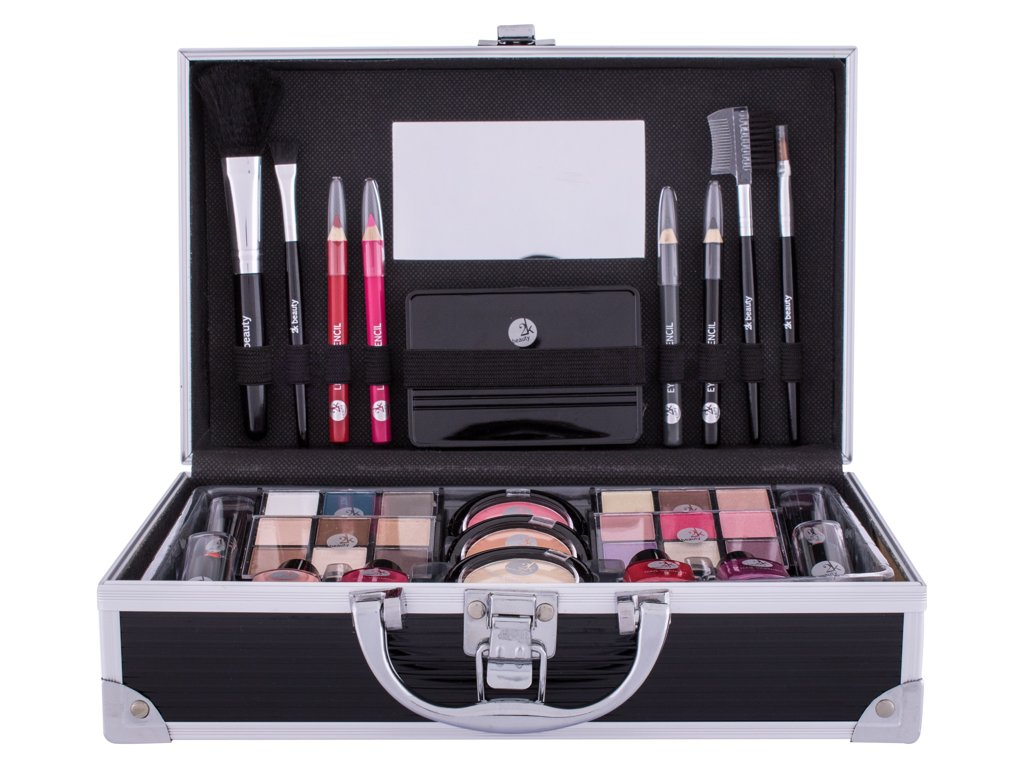 2K Fabulous Beauty Train Case Black