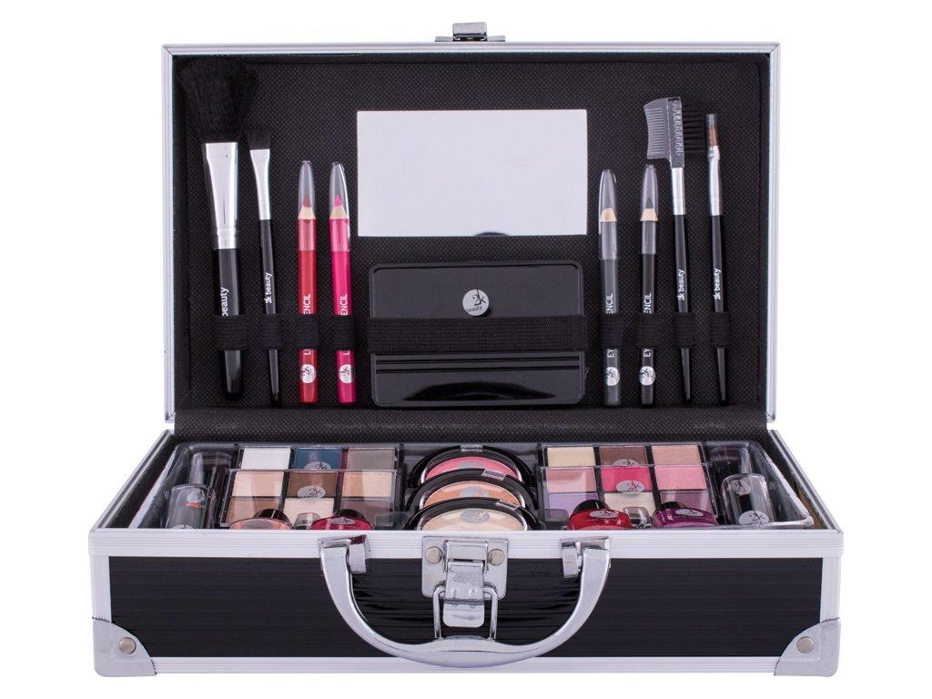 2K Fabulous Beauty Train Case Black