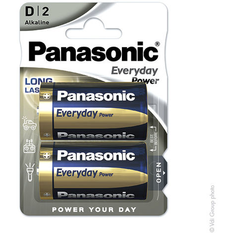 Panasonic Everyday Power LR20 - D 1.5V 19.7Ah