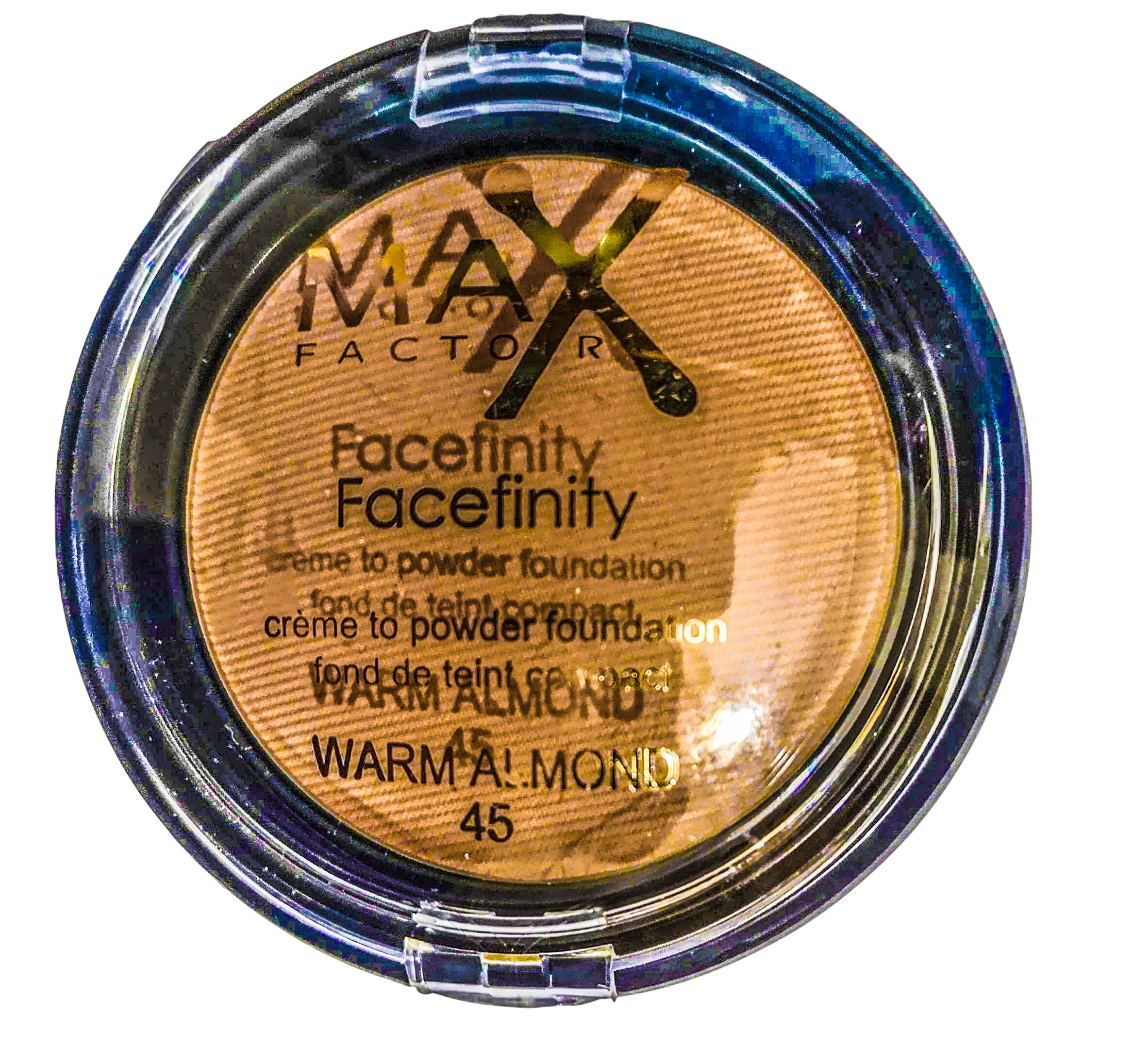 MAX FACTOR FACEFINITY WARM ALMOND N.45 16G ANNO 2020