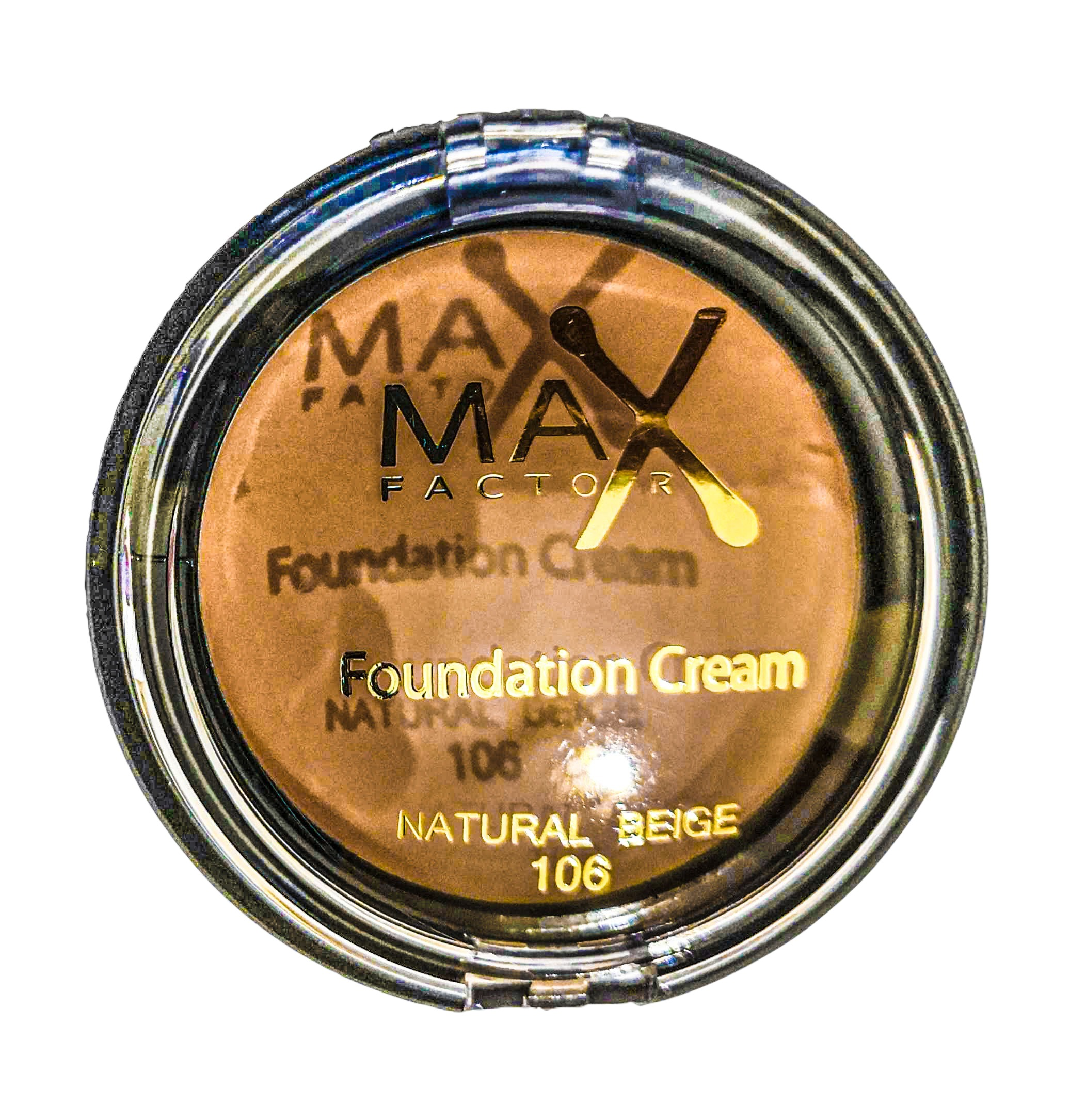 MAX FACTOR FOUNDATION CREAM NATURAL BEIGE N.106 10G   ANNO 2020