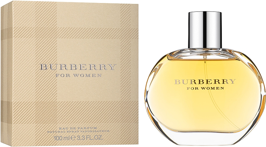 BURBERRY FOR WOMEN EDP 100ML