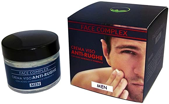 Face Complex Men Crema Viso Anti Rughe 50 Ml