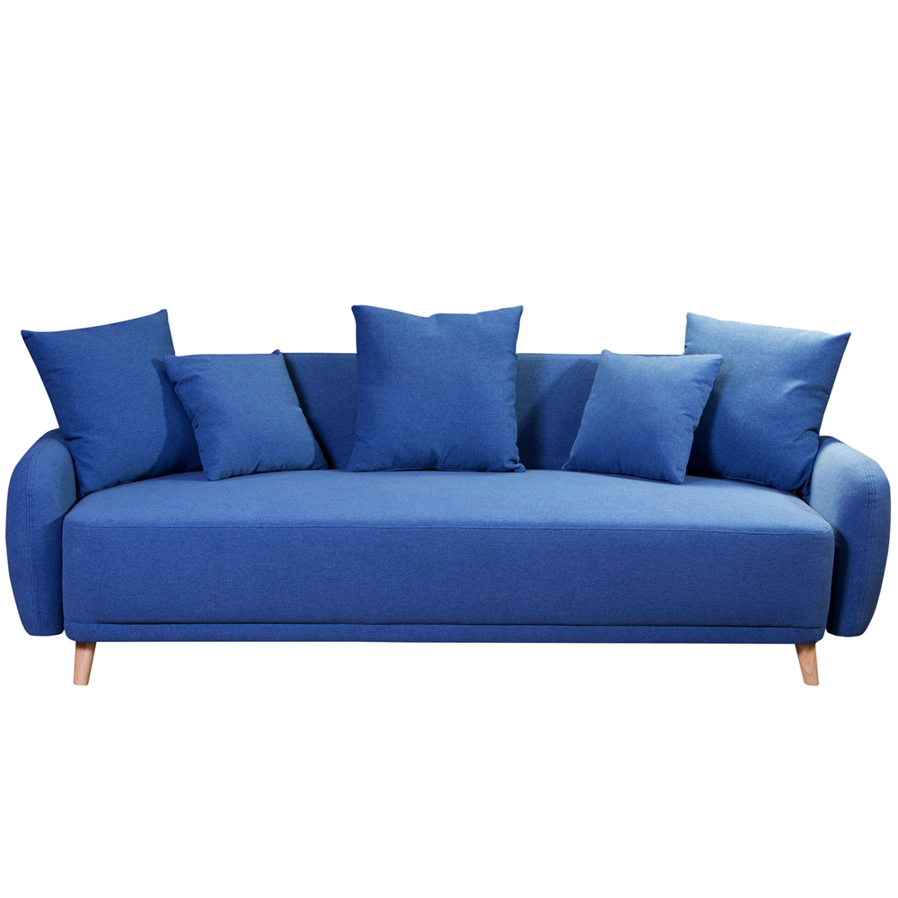 Sofa Cama Antonia 3c Azul