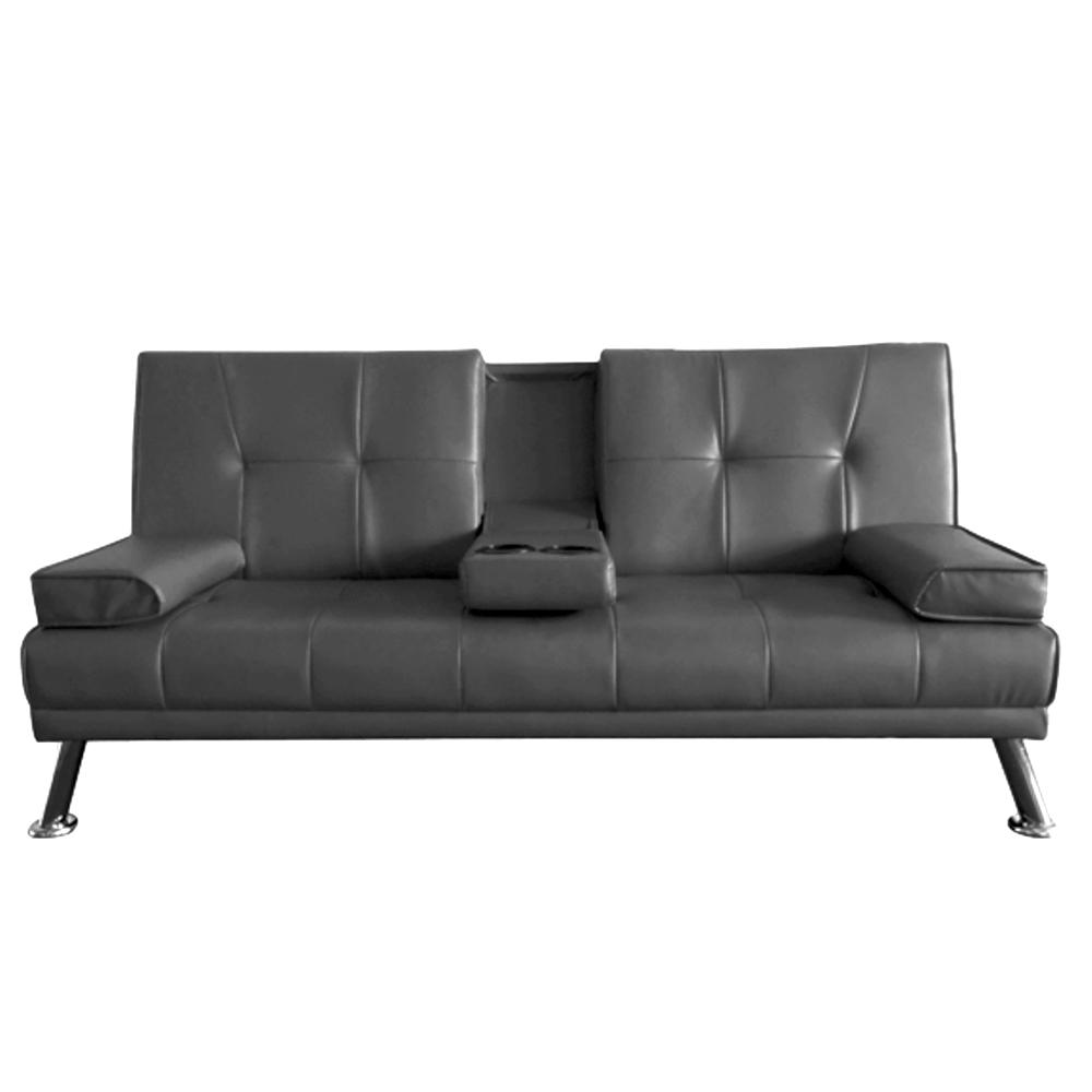 Futon Lounge - Negro