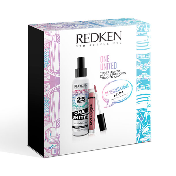 Cofre One United REDKEN 150ml + Labial NYX