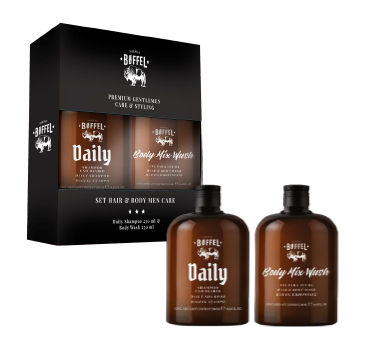 PACK BOFFEL DAILY SHAMPOO 250ML+BODY MIX WASH 250M
