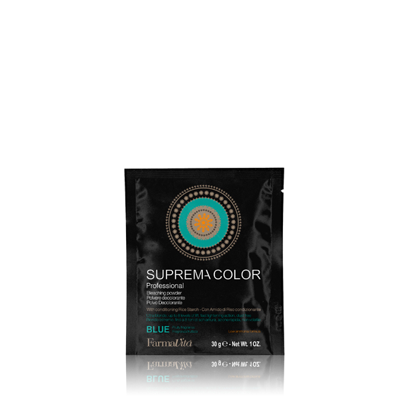 DECOLORANTE SUPREMA BLEACHING POWDER BLUE 30GR