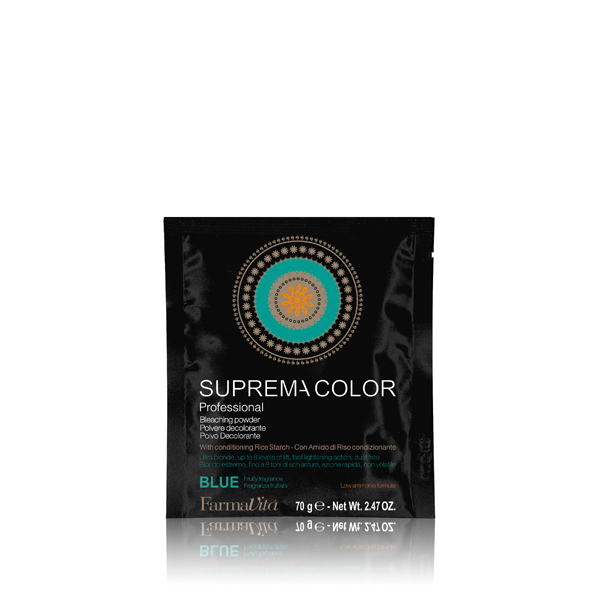 DECOLORANTE SUPREMA BLEACHING POWDER BLUE 70GR