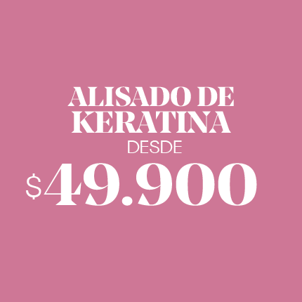 Alisado de Keratina desde $49.990