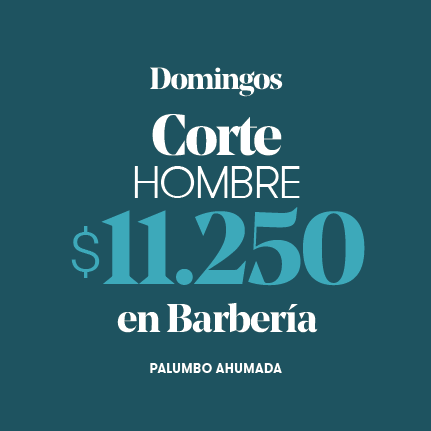 Corte Hombre en Barbería $11.250- Palumbo Ahumada