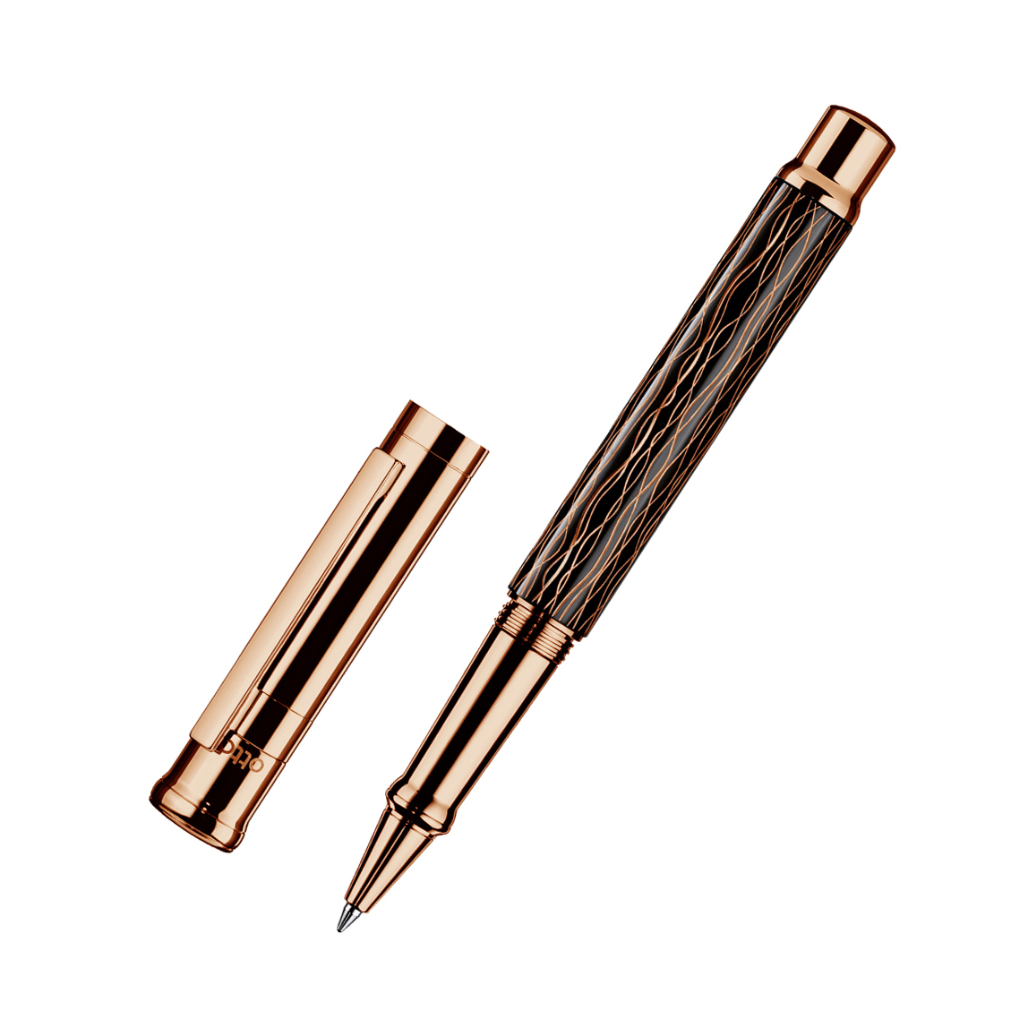 ROLLERBALL D04 WAVE BLACK ROSE