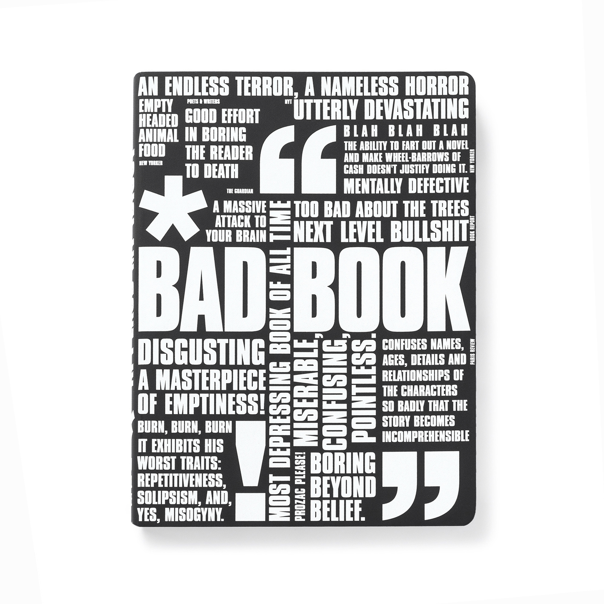 CUADERNO BAD BOOK