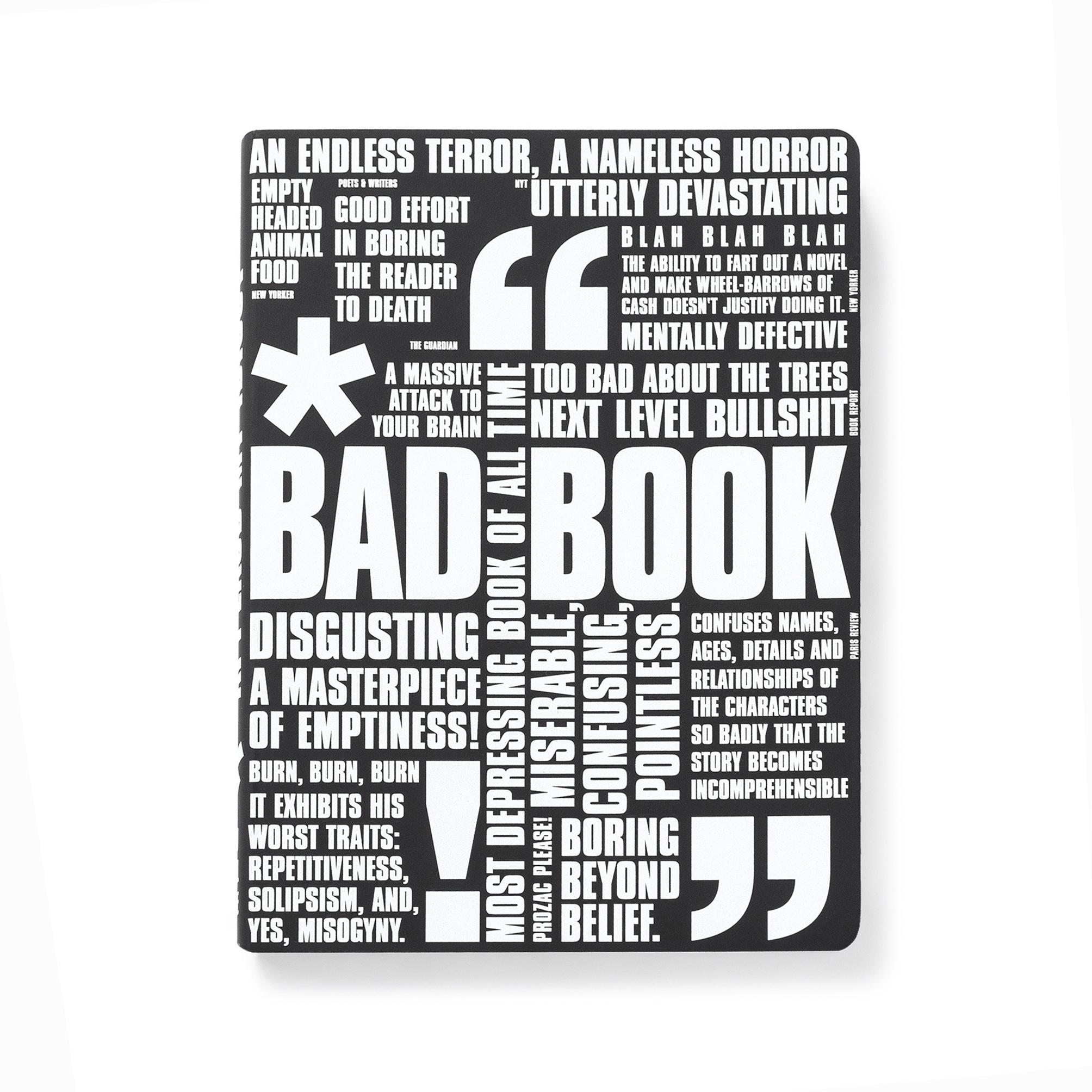 CUADERNO BAD BOOK