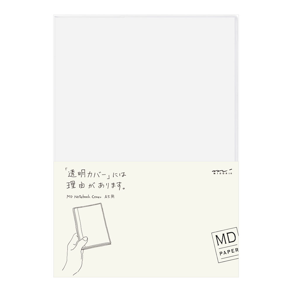 MD CLEAR COVER A5