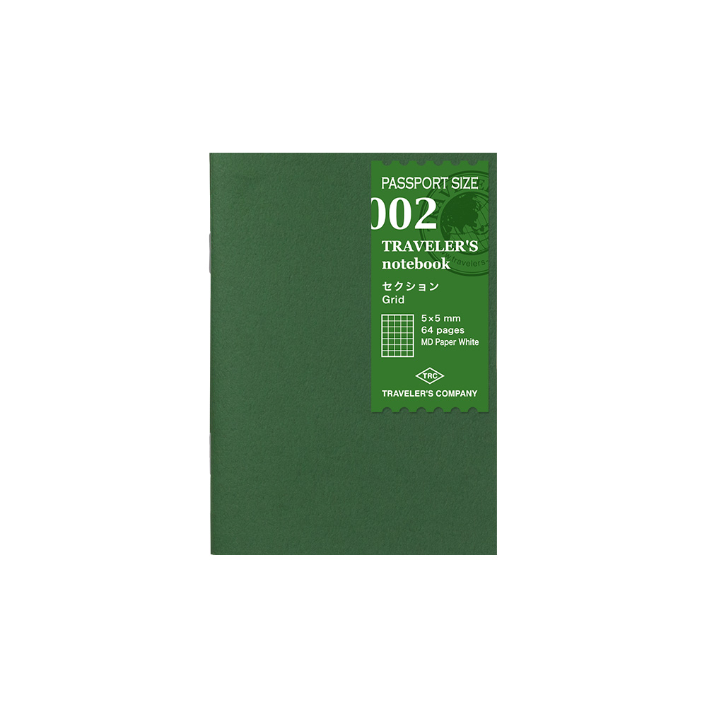 Refill Cuadriculado 002 Passport TRAVELER´S Notebook