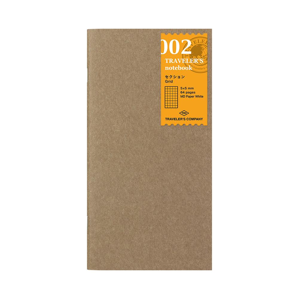 Refill Cuadriculado 002 TRAVELER'S Notebook