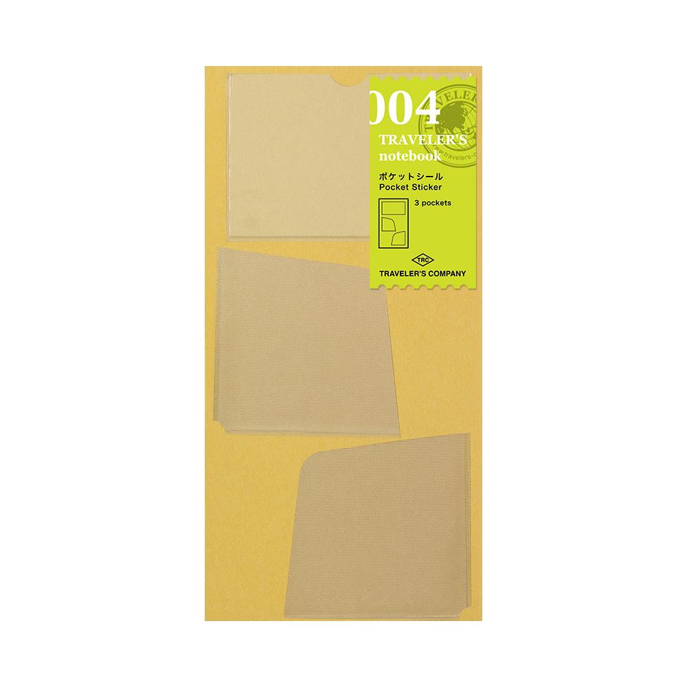 TRAVELER'S Notebook Refill Pocket Stickers 004