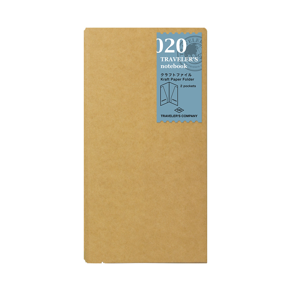 Refill Kraft Paper Folder 020 TRAVELER'S Notebook