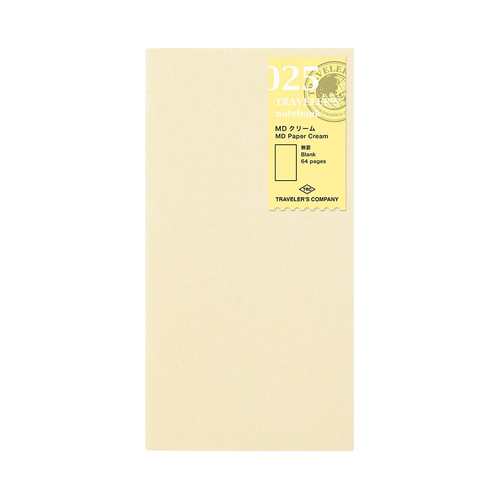 TRAVELER´S Notebook Refill MD Paper Cream 025
