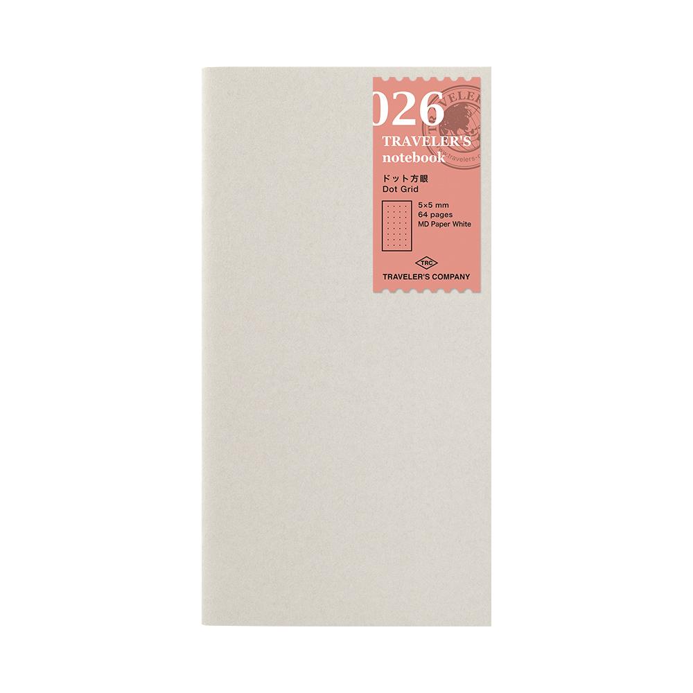 TRAVELER´S Notebook Refill Puntos 026