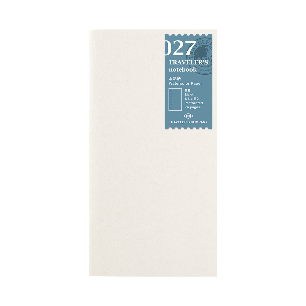 Refill Watercolor Paper 027 TRAVELER´S Notebook