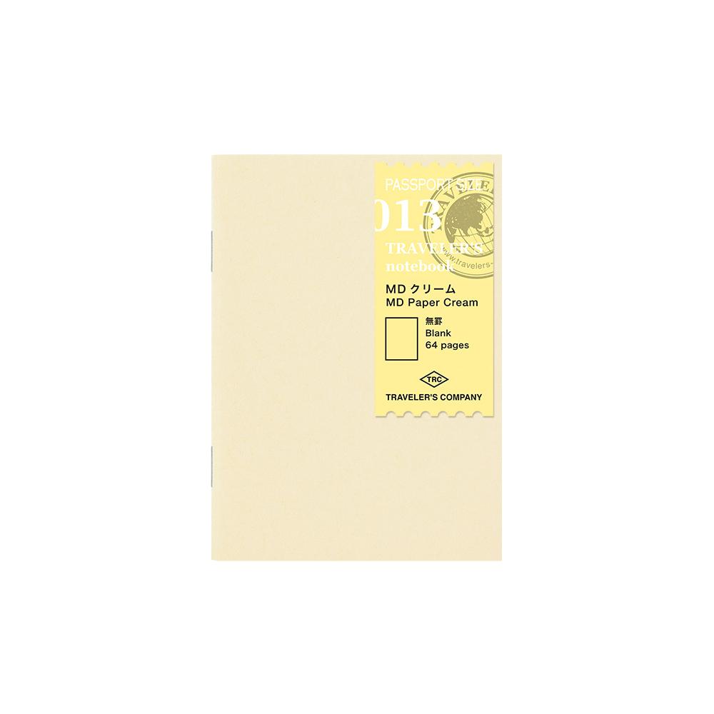 TRAVELER´S Notebook Refill MD Paper Cream 013 Passport