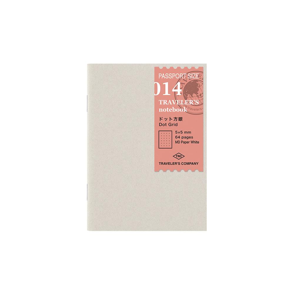 TRAVELER´S Notebook Refill Dot Grid 014  Passport