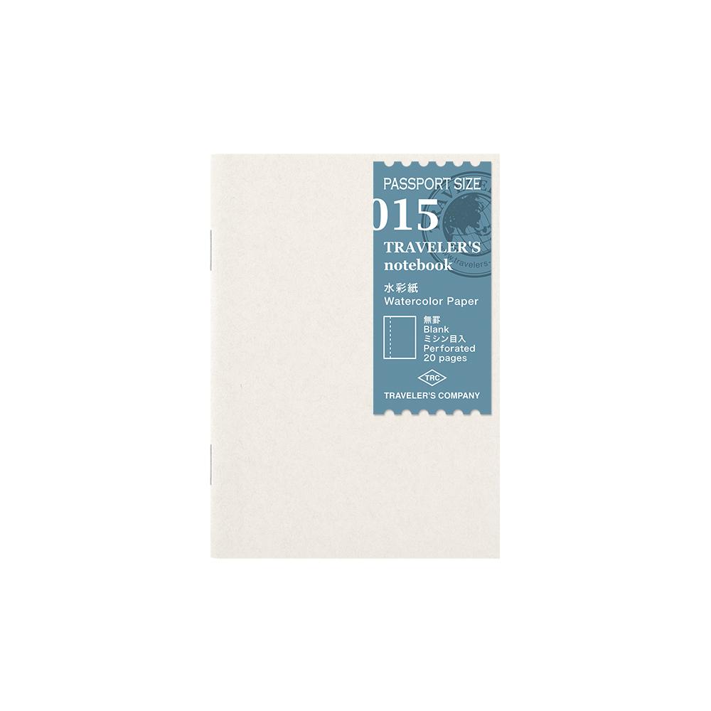 Refill Watercolor Paper 015 Passport TRAVELER´S Notebook