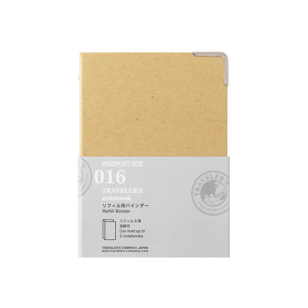 TRAVELER´S Notebook Refill Binder 016 Passport