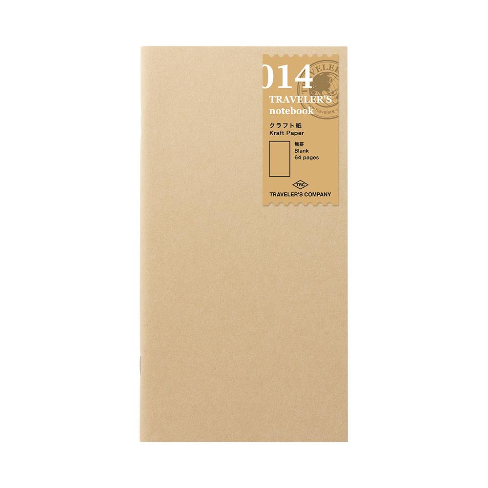 TRAVELER´S Notebook Refill Kraft Paper Notebook 014