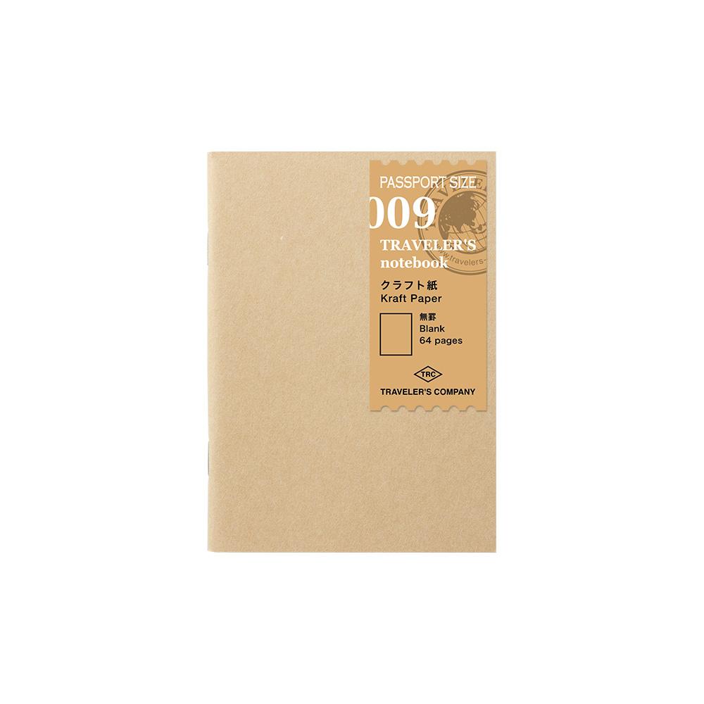 TRAVELER´S Notebook Refill Kraft Paper 009 Passport