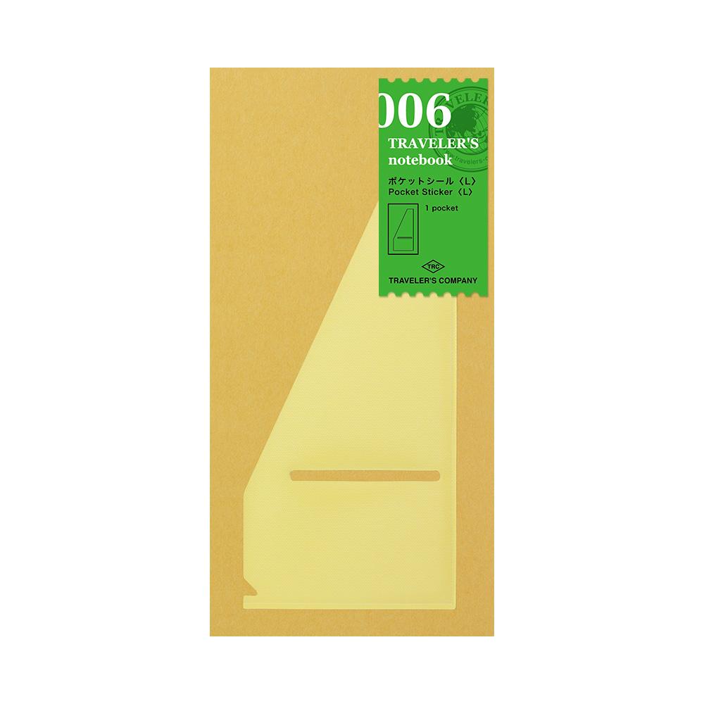 TRAVELER´S Notebook Refill Pocket Sticker 006