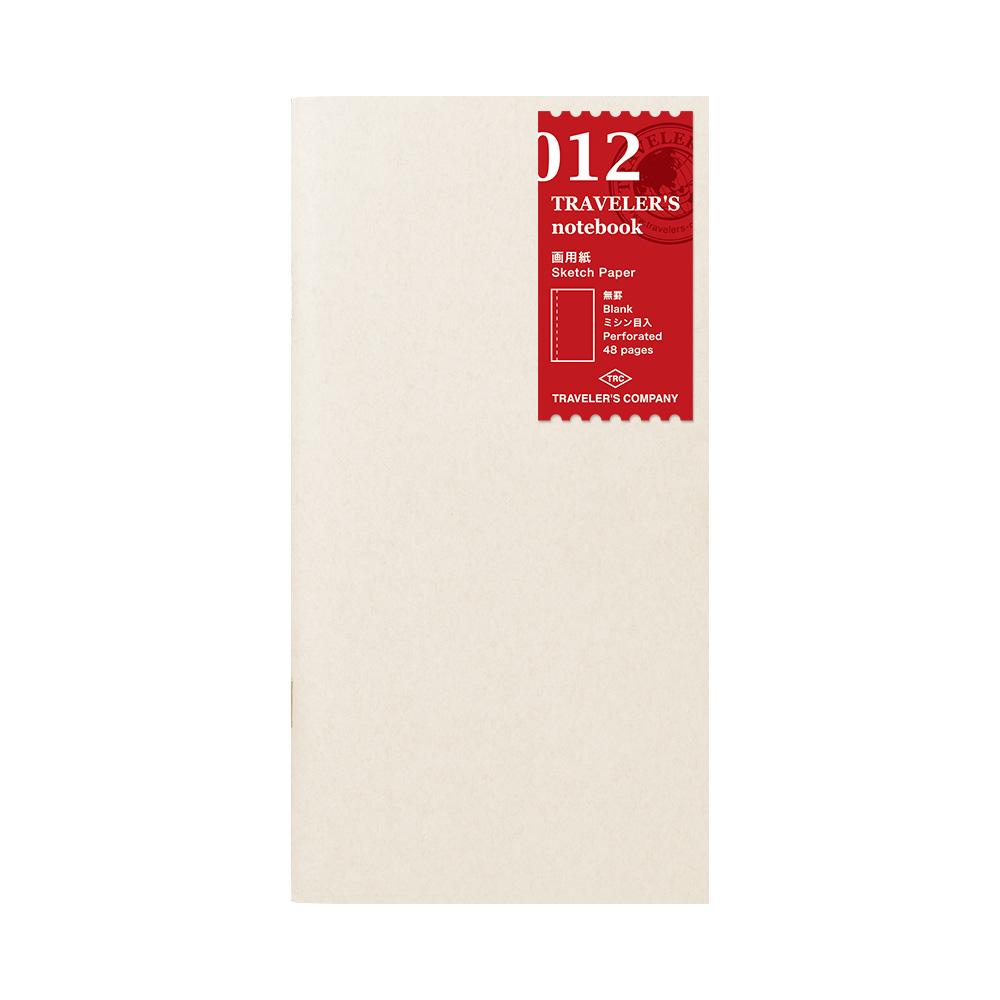 Refill Sketch 012 TRAVELER´S Notebook