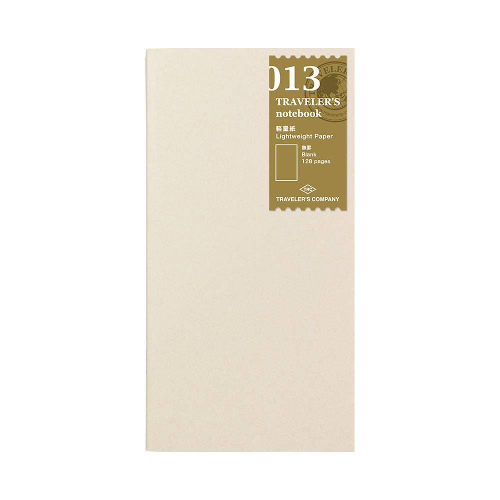 TRAVELER´S Notebook Refill Light Paper 013