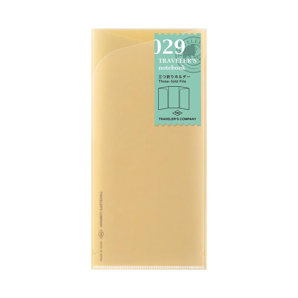 Three-fold File 029 TRAVELER´S Notebook