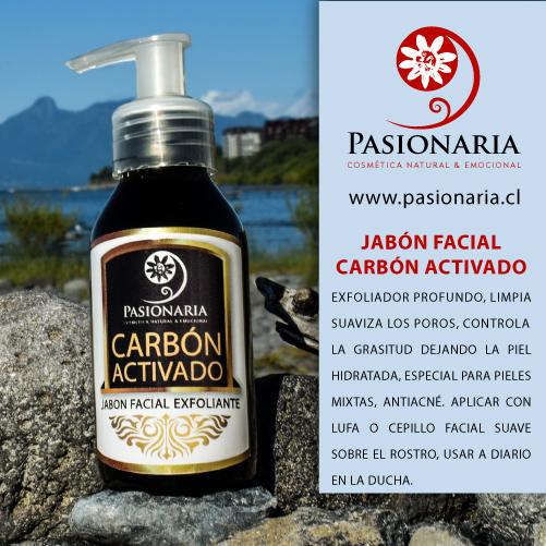 Jabón facial Carbón activado