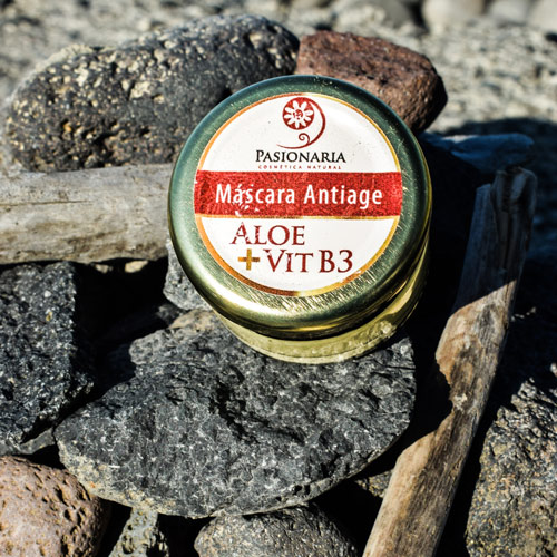 Máscara hidratante Aloe + VitB3