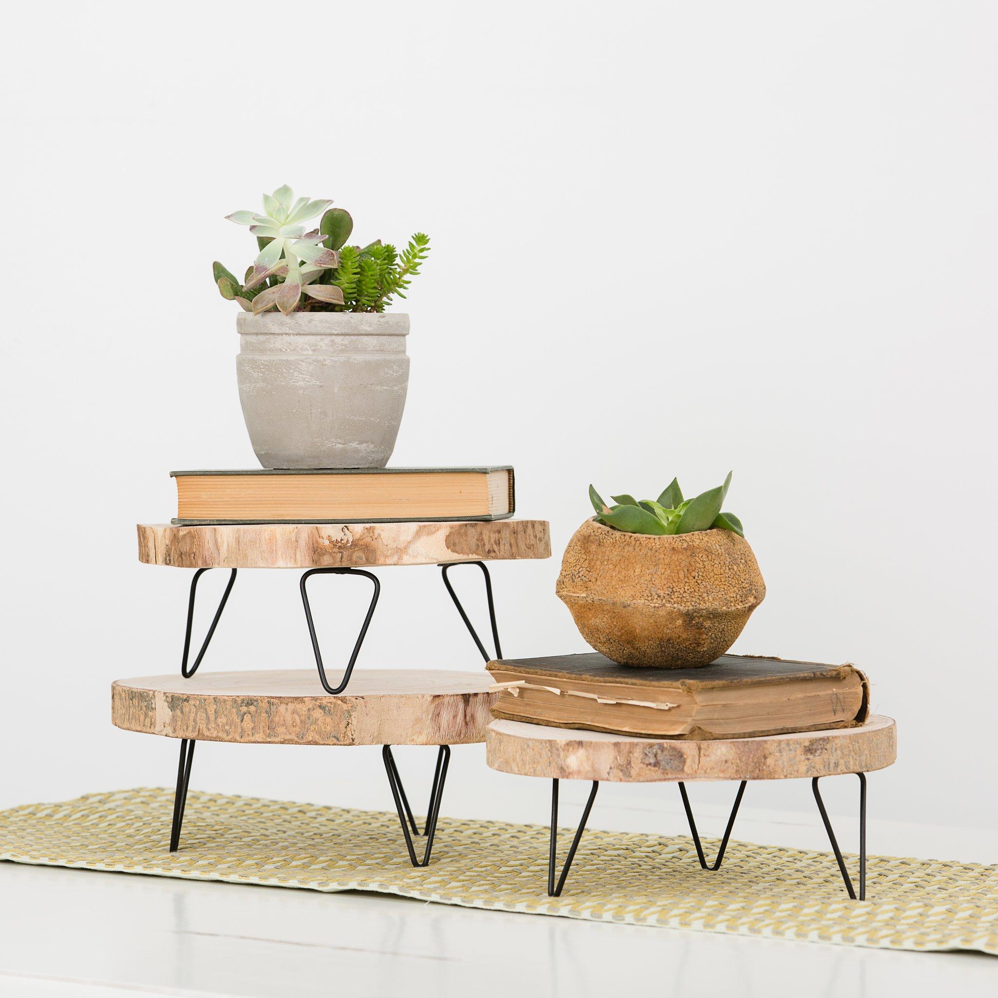 Pedestal madera