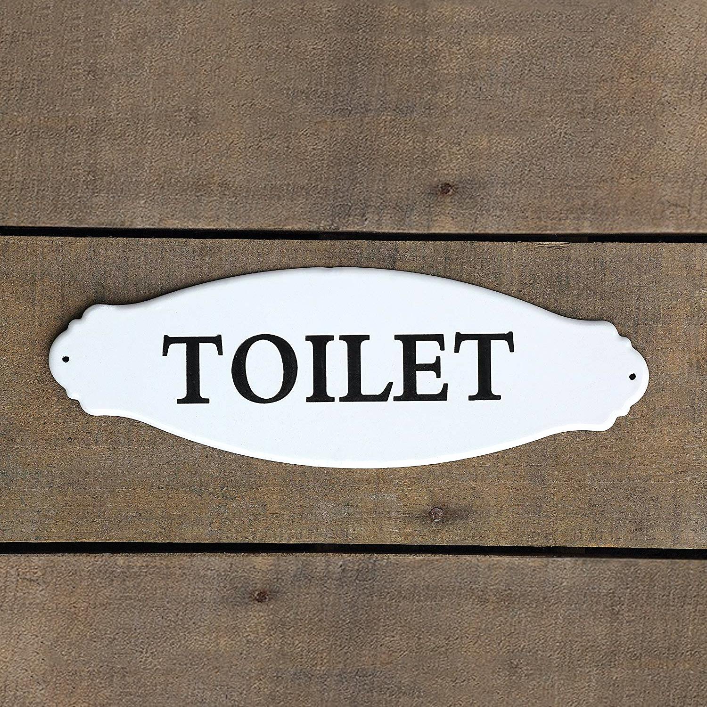 Pack 12 letreros Toilet