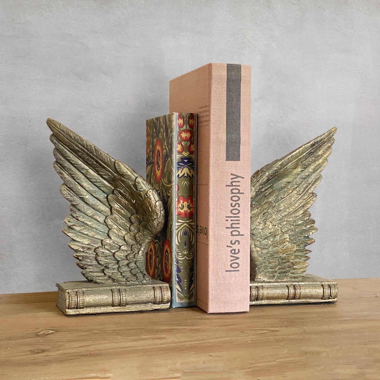 Set alas sujeta libros