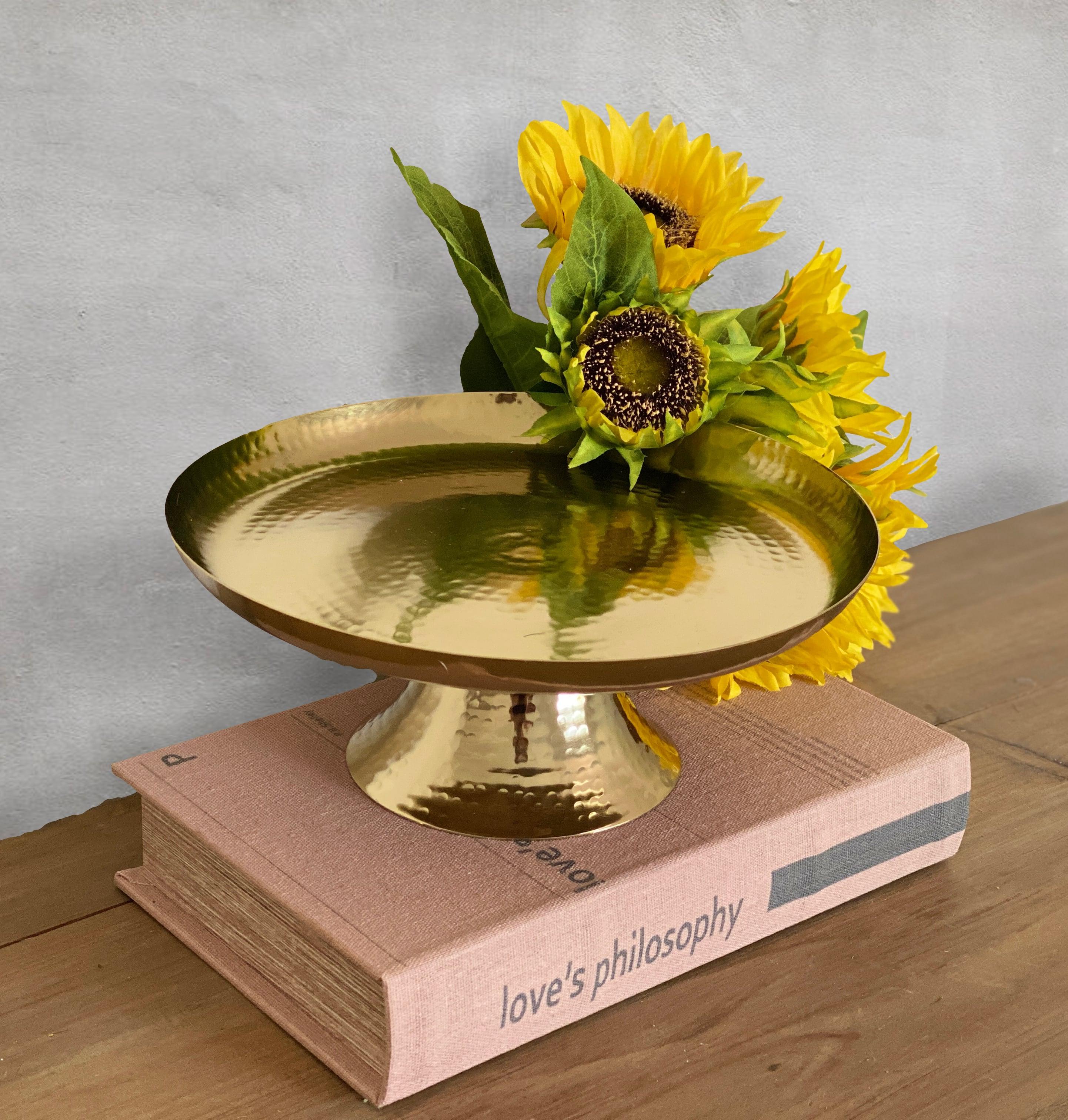 Frutera o Pedestal dorado