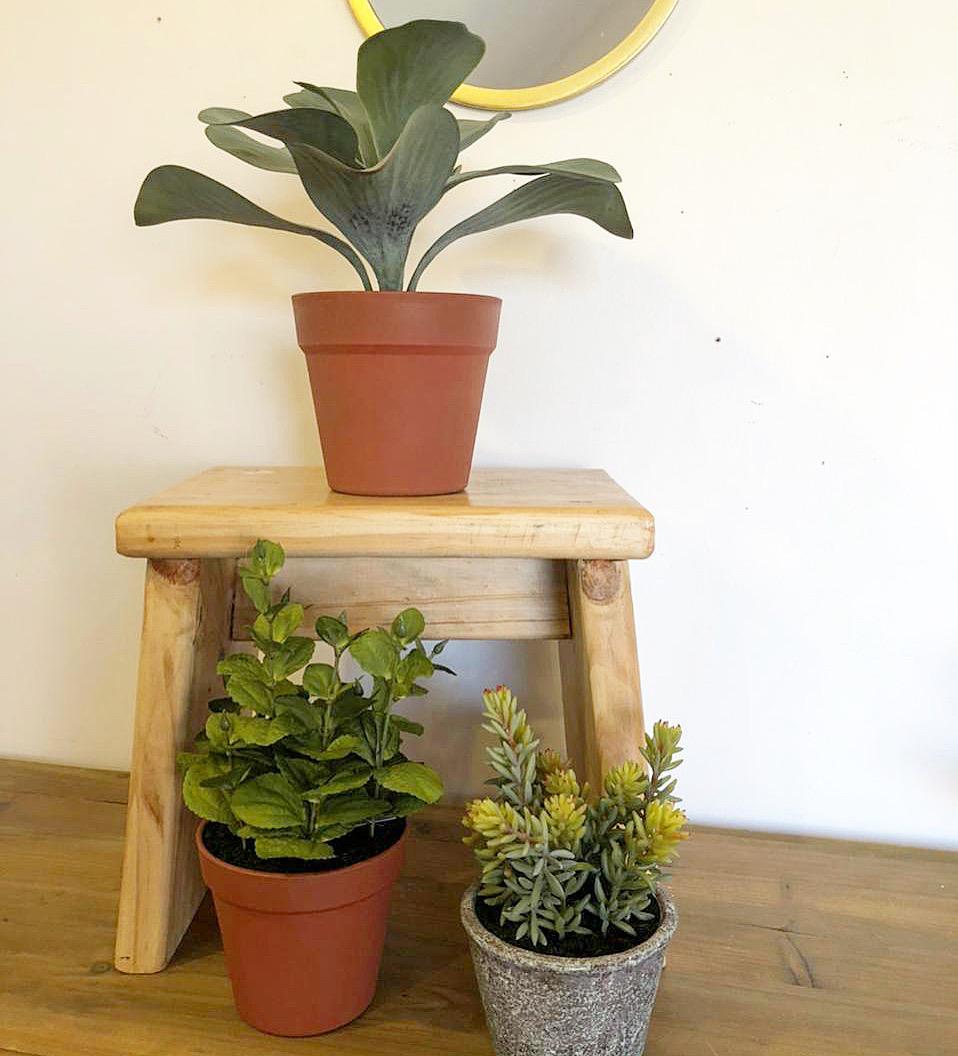 Banca o plantero  madera
