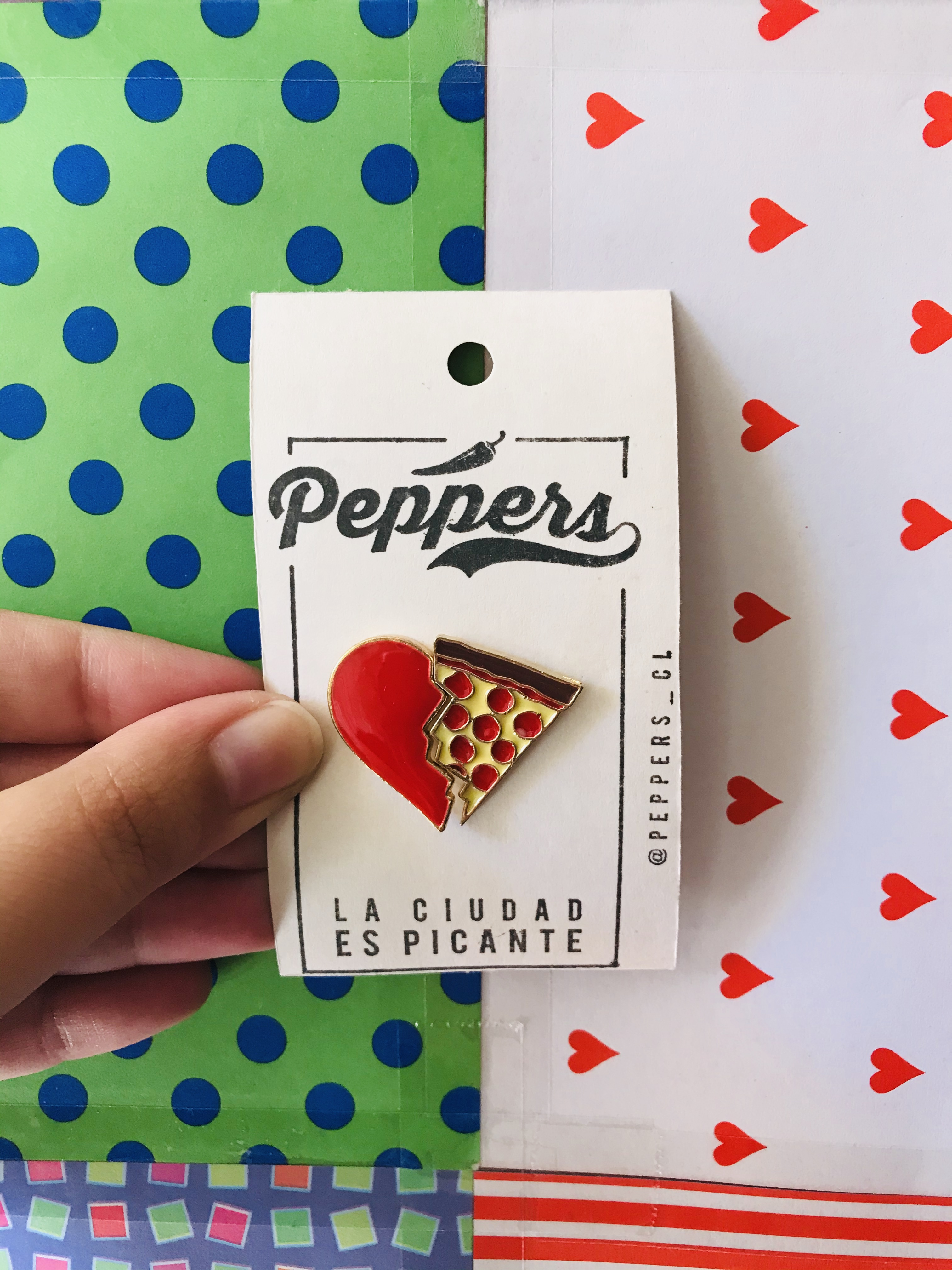 Pin Pizza Lover