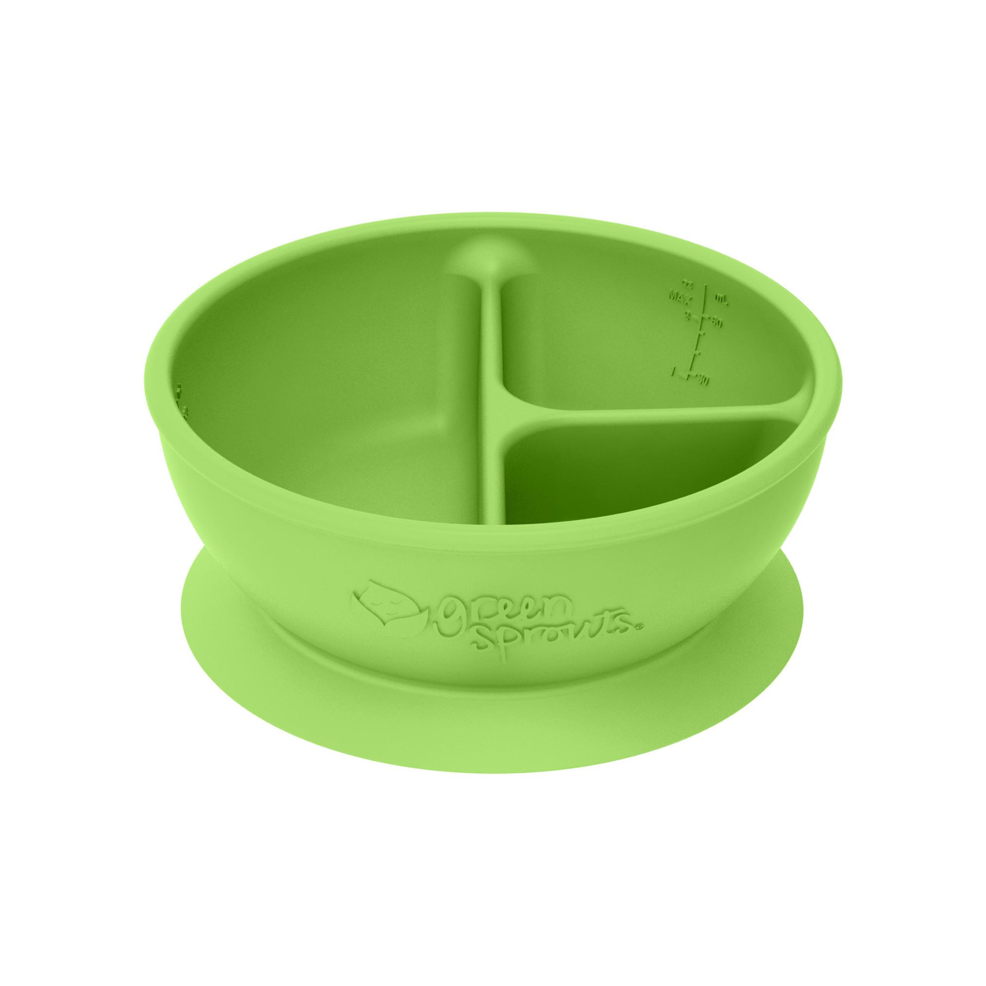 Bowl Adherente 100% Silicona Verde