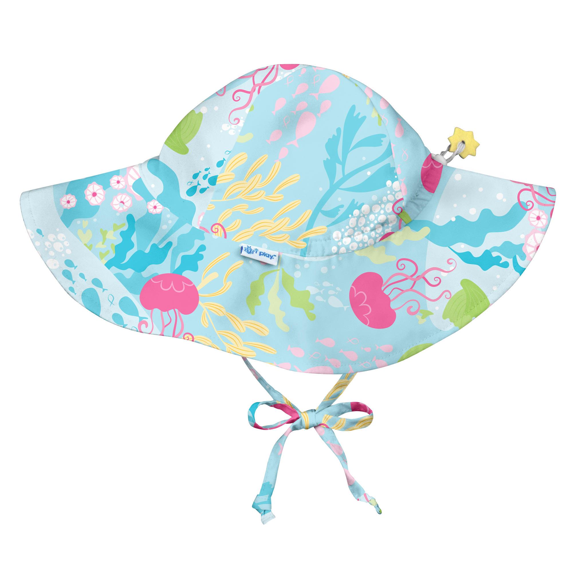 Sombrero con Filtro Celeste Coral