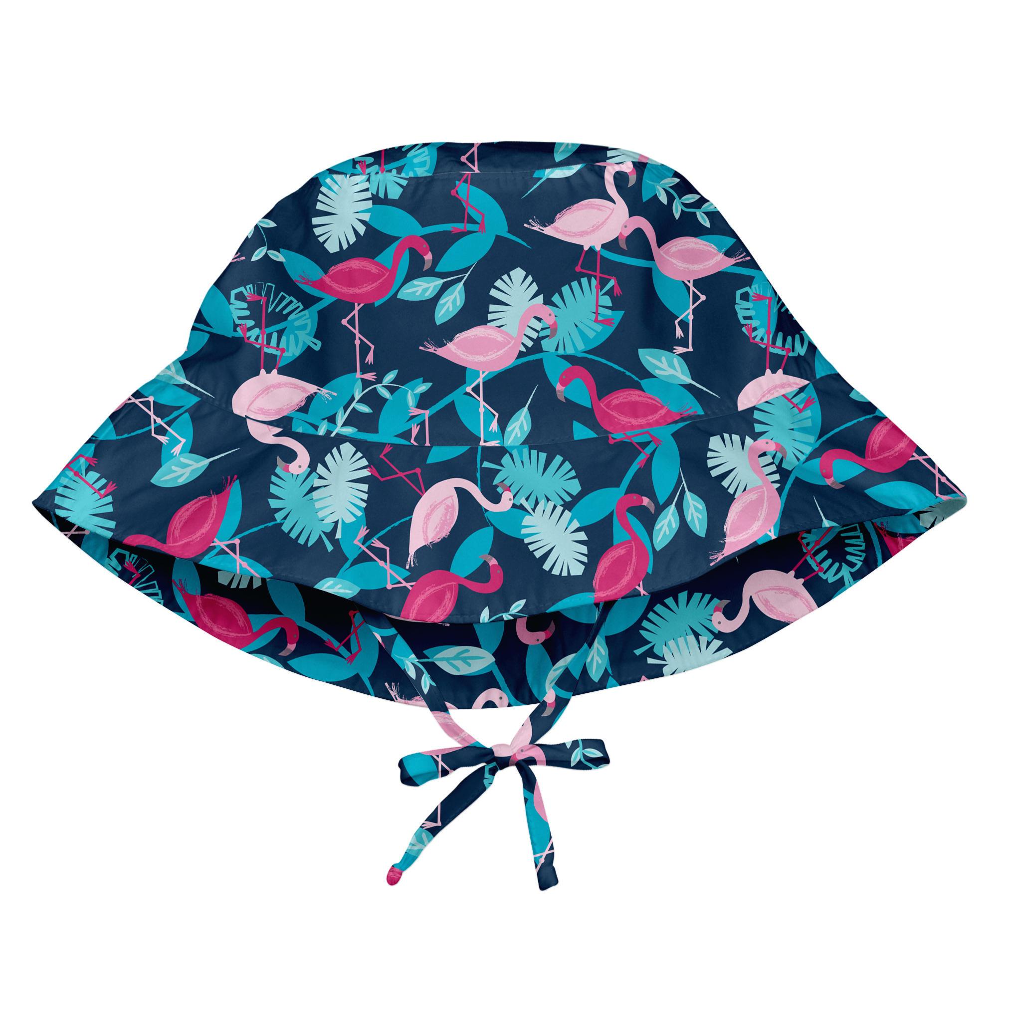 Sombrero Bucket Azul Flamingo